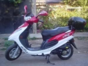 VENDO MOTO SCOOTER LIFAN 125 CC 2007 SIN USO $ 530 000